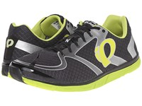 Pearl Izumi Em Road N 0 V2 Shadow Grey Lime Punch Men's Running Shoes Gray