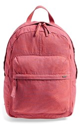 Junior Women's Rvca 'Scout Ii' Backpack Pink Rosewater