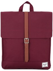 Herschel Supply Co. Single Strap Square Backpack Red