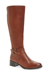 Naturalizer Women's 'Jelina' Riding Boot Brown Leather