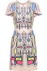 Peter Pilotto Rook Printed Crepe Dress Multi