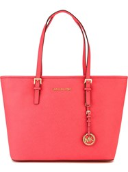 Michael Michael Kors 'Jet Set' Tote Pink And Purple