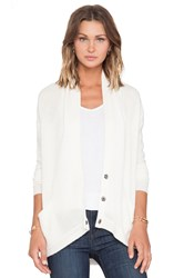 Inhabit Whisper Cashmere Cardigan Ivory