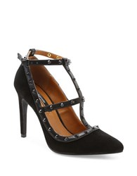 Kensie Fizzia Suede Dress Pumps Black