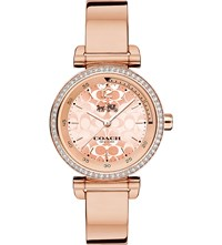 Coach 14502543 1941 Sport Rose Gold Plated Stainless Steel Watch