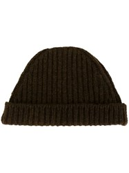 Marni Knitted Beanie Brown