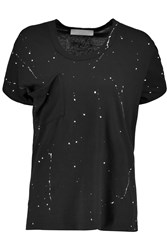 Kain Label Alana Cotton And Modal Blend Jersey T Shirt Black