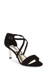 Women's Dune London 'Mindee' Strappy Sandal Black Suede
