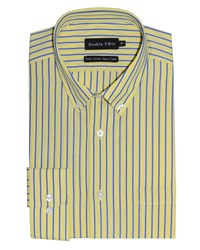 Double Two Formal Shirt Yellow