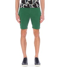 Paul Smith Ps By Regular Fit Chino Shorts Green