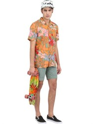 Vans Floral Printed Cotton Poplin Shirt
