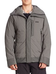 Helly Hansen Ask And Embla Hooded Parka Rock
