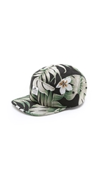 Penfield Casper Five Panel Cap Black Palm