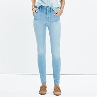 Madewell Rivet And Thread Extra High Skinny Jeans
