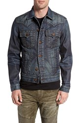 True Religion Men's Brand Jeans 'Jimmy' Embroidered Western Jacket
