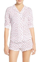 Only Hearts Club Women's Only Hearts 'Heritage Heart' Supima Cotton Pajamas