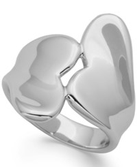 Giani Bernini Wrapped Hearts Ring In Sterling Silver