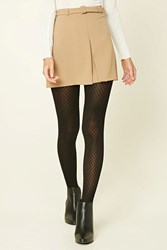 Forever 21 Semi Sheer Grid Tights