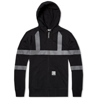 Carhartt X Slam Jam Reflective Hooded Chase Jacket Black