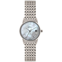 Rotary Lb02750 41 Women's Mother Of Pearl Dial Bracelet Strap Watch