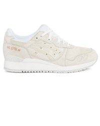 Asics Gel Lyte Iii Rose Gold Ecru Trainers
