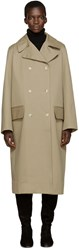 Studio Nicholson Khaki Hopper Trench Coat
