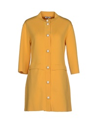 Moschino Cheap And Chic Moschino Cheapandchic Full Length Jackets Coral
