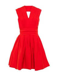 Preen Cherry Bomb Dress Red