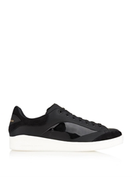 Alexander Mcqueen Elgar Abstract Leather Trainers