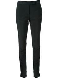 Yang Li Slim Fit Trousers Black