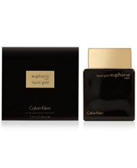 Calvin Klein Euphoria For Men Liquid Gold Eau De Toilette 3.4 Oz Only At Macy's No Color