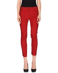 Alexander Mcqueen Trousers Casual Trousers Women Red