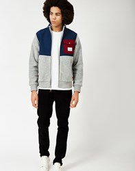 Poler Half Fleece Jacket Grey
