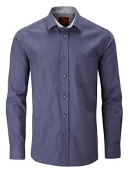 Skopes Cotton Casual Shirts Navy