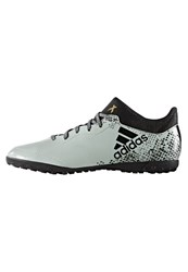 Adidas Performance X 16.3 Cage Astro Turf Trainers Vapour Green Core Black Gold Metallic Mint