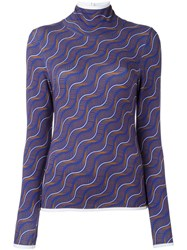 Aalto Fine Knit Top Pink Purple