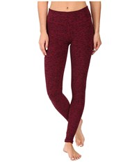 Beyond Yoga Spacedye Long Essential Leggings Black Merlot Spacedye Women's Casual Pants Brown