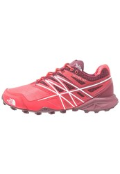 The North Face Ultra Mt Trail Running Shoes Melon Red