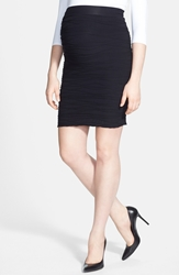 Tees By Tina 'Line' Maternity Skirt Black