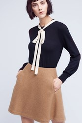 Anthropologie Eugenie Cashmere Pullover Dark Blue