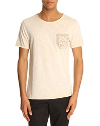 Menlook Label Kent Beige T Shirt