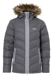 Jack Wolfskin Baffin Bay Down Jacket Alloy Grey