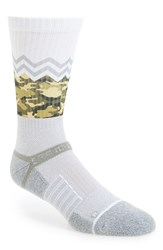 Strideline Men's 'Cement Camo' Strapped Fit 2.0 Socks