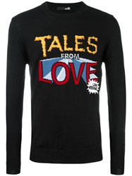 Love Moschino 'Tales From Love' Jumper Black