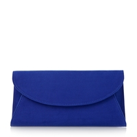 Untold Beray Fold Over Clutch Bag Blue