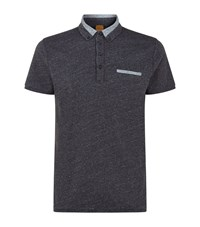 Boss Orange Pyx Polo Shirt Male Dark Grey