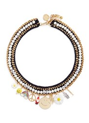 Venessa Arizaga 'Glowing Garden' Necklace Multi Colour