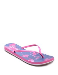 Splendid Firefly Patent Leather Thong Flip Flops Pink Purple