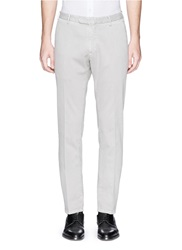 Boglioli 'Wear' Cotton Blend Stretch Pants Grey