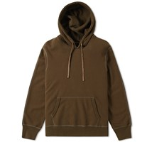 Reigning Champ Side Zip Hoody Green